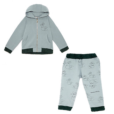 ladies & gentleman hoodie pants -SET -SR
