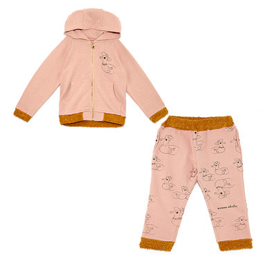 ladies & gentlemen hoodie pants SET -PK